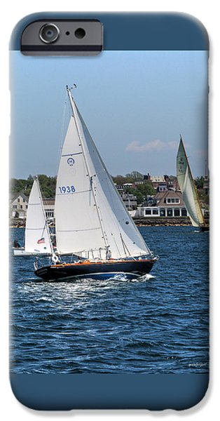 Sailboats iPhone Cases - Newport Rhode Island iPhone Case by Tom Prendergast