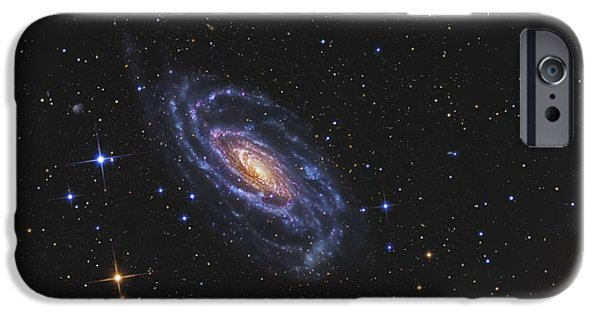 Stellar iPhone Cases - Ngc 5033, A Spiral Galaxy Situated iPhone Case by R Jay GaBany