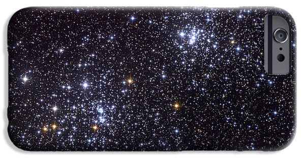 Constellations iPhone Cases - Ngc 884, An Open Cluster iPhone Case by Roth Ritter