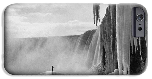 Mounds iPhone Cases - Niagara Falls: Frozen iPhone Case by Granger