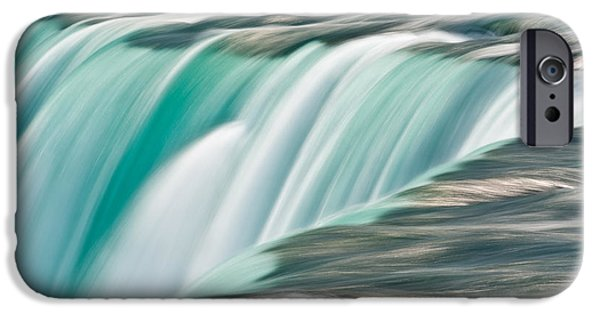 Niagara Falls iPhone Cases - Niagara Falls Number 2 iPhone Case by Steve Gadomski