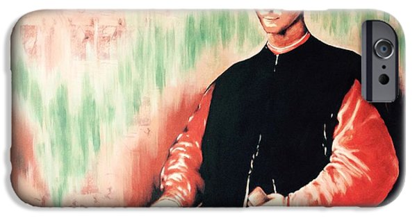 Politician iPhone Cases - Niccolo Machiavelli iPhone Case by Victor Minca
