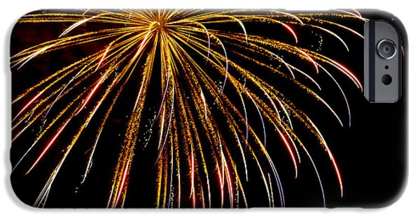 4th July iPhone Cases - Night Colors iPhone Case by Phill  Doherty