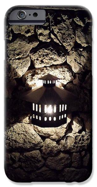 Multimedia iPhone Cases - Night Light iPhone Case by Ann Hamlin
