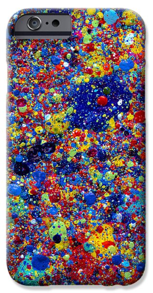 4th July Paintings iPhone Cases - Night Sky 4th of July iPhone Case by Sean Corcoran