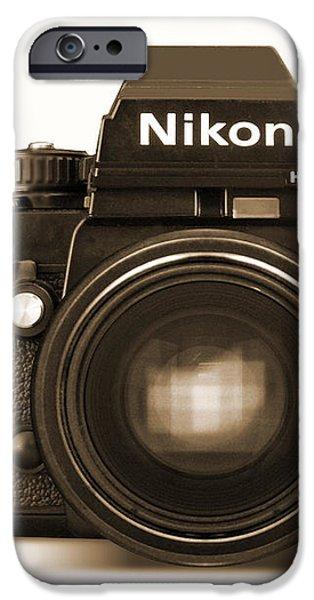 Nikon F3 HP iPhone Case by Mike McGlothlen
