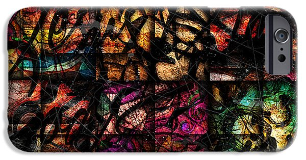 Mosaic iPhone Cases - Nissi iPhone Case by Gary Bodnar