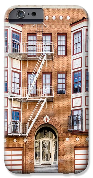 White House iPhone Cases - San Francisco Architecture 2 iPhone Case by Patti Deters