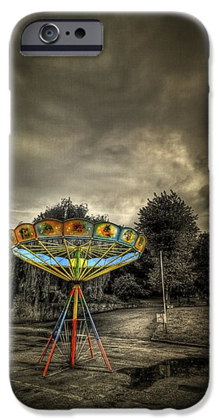 Carousel iPhone Cases - No More Rides iPhone Case by Evelina Kremsdorf