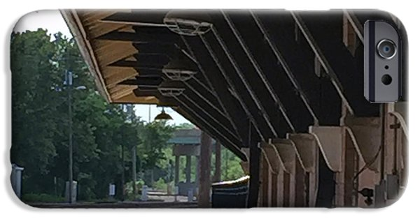 Overhang iPhone Cases - No Sign of The train iPhone Case by James Pinkerton