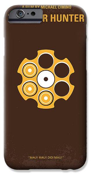 No019 My Deerhunter minimal movie poster iPhone Case by Chungkong Art