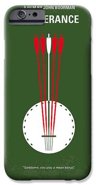 Canoeing iPhone Cases - No020 My Deliverance minimal movie poster iPhone Case by Chungkong Art