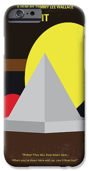 Child iPhone Cases - No043 My it minimal movie poster iPhone Case by Chungkong Art