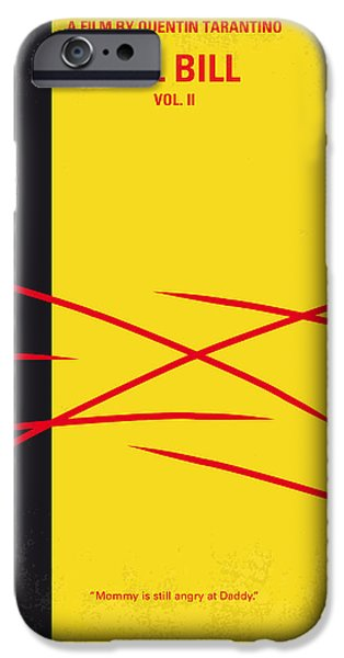 David iPhone Cases - No049 My Kill Bill-part2 minimal movie poster iPhone Case by Chungkong Art
