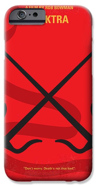 Drama iPhone Cases - No060 My ELECTRA minimal movie poster iPhone Case by Chungkong Art