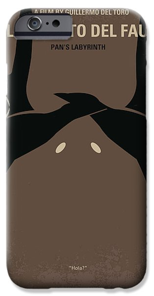 No061 My Pans Labyrinth minimal movie poster iPhone Case by Chungkong Art