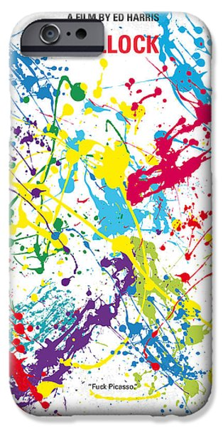 Terrestrial iPhone Cases - No065 My Polock minimal movie poster iPhone Case by Chungkong Art