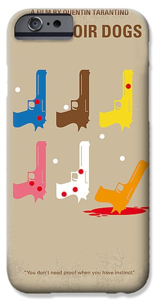 Action iPhone Cases - No069 My Reservoir Dogs minimal movie poster iPhone Case by Chungkong Art