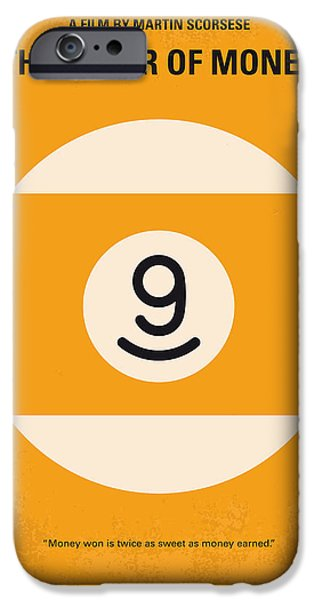 Money iPhone Cases - No089 My The color of money minimal movie poster iPhone Case by Chungkong Art