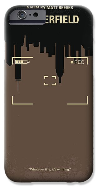 Attack iPhone Cases - No203 My Cloverfield minimal movie poster iPhone Case by Chungkong Art