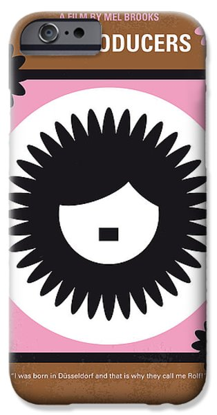 Springtime iPhone Cases - No467 My The Producers minimal movie poster iPhone Case by Chungkong Art