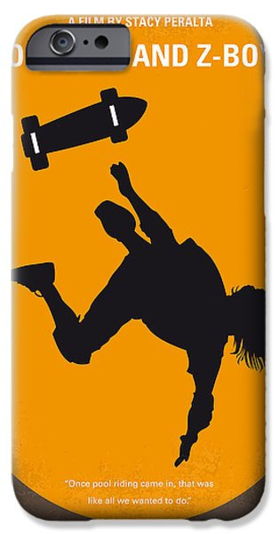 Extreme iPhone Cases - No450 My Dogtown and Z-Boys minimal movie poster iPhone Case by Chungkong Art