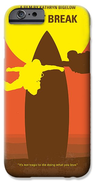 President iPhone Cases - No455 My Point Break minimal movie poster iPhone Case by Chungkong Art