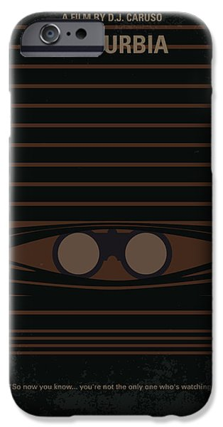 Arrest iPhone Cases - No457 My Disturbia minimal movie poster iPhone Case by Chungkong Art