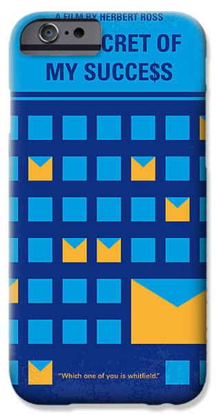 Michael iPhone Cases - No464 My THE SECRET SUCCES minimal movie poster iPhone Case by Chungkong Art