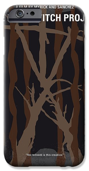 Witches iPhone Cases - No476 My The Blair Witch Project minimal movie poster iPhone Case by Chungkong Art