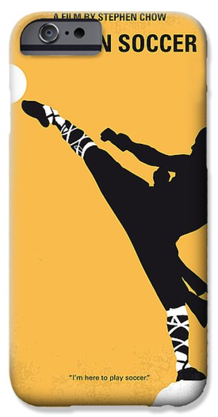 Steel iPhone Cases - No480 My Shaolin Soccer minimal movie poster iPhone Case by Chungkong Art