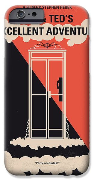Report iPhone Cases - No490 My Bill and Teds Excellent Adventure minimal movie poster iPhone Case by Chungkong Art
