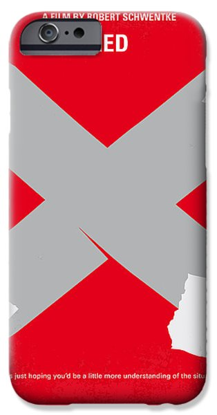 Op iPhone Cases - No495 My RED minimal movie poster iPhone Case by Chungkong Art