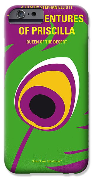 Drag iPhone Cases - No498 My Priscilla Queen of the Desert minimal movie poster iPhone Case by Chungkong Art