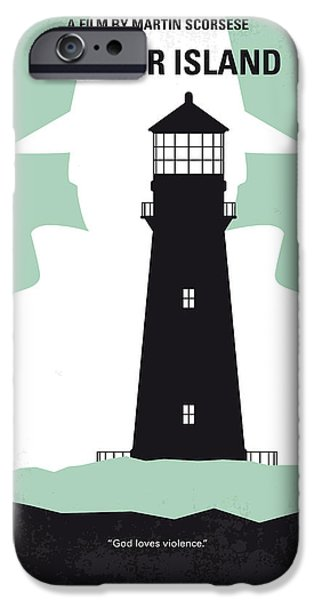 Shutter iPhone Cases - No513 My Shutter Island minimal movie poster iPhone Case by Chungkong Art