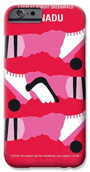 Greek Art iPhone Cases - No516 My Xanadu minimal movie poster iPhone Case by Chungkong Art