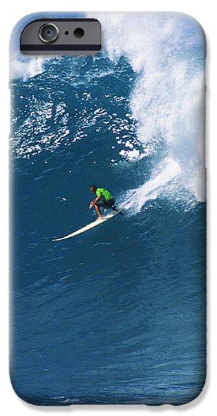 Noah At Waimea iPhone Case by Vince Cavataio - Printscapes