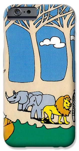 Noah's Ark iPhone Case by Genevieve Esson