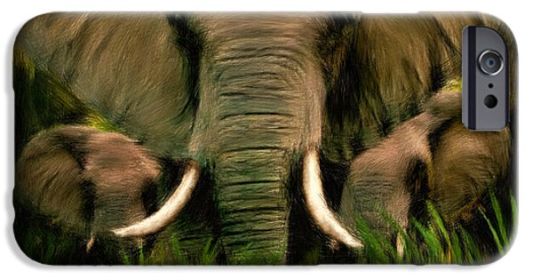 Ivory iPhone Cases - Noble Ones iPhone Case by Lourry Legarde