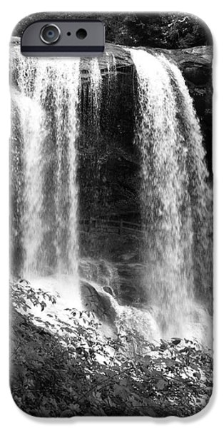 North Carolina Dark Falls iPhone Case by Julian Bralley
