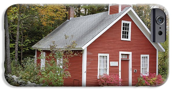 Recently Sold -  - Village iPhone Cases - North District School House - Dorchester New Hampshire iPhone Case by Erin Paul Donovan
