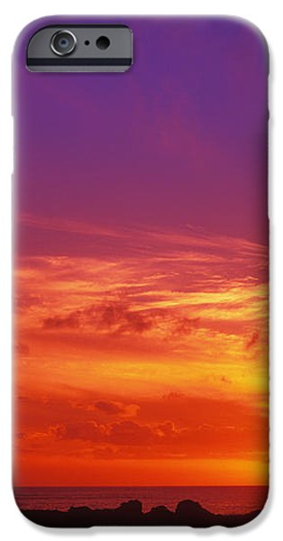 North Shore Sunset iPhone Case by Vince Cavataio - Printscapes