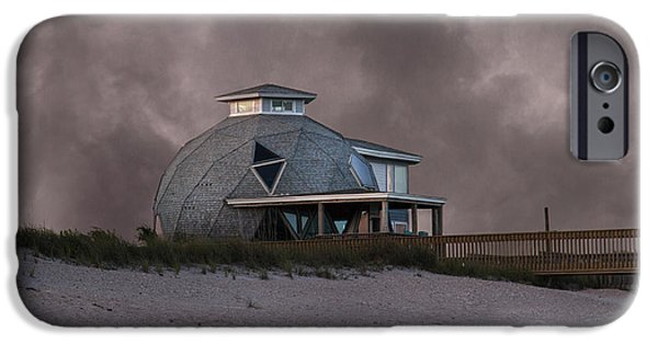 Topsail iPhone Cases - North Topsail Beach Dome iPhone Case by Betsy C  Knapp