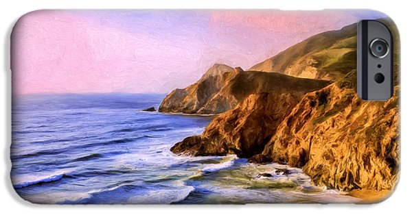 Recently Sold -  - Ocean Sunset iPhone Cases - Northern California Coast iPhone Case by Dominic Piperata