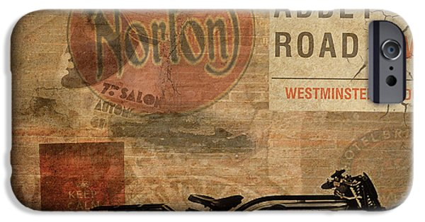 Racing iPhone Cases - Norton iPhone Case by Cinema Photography