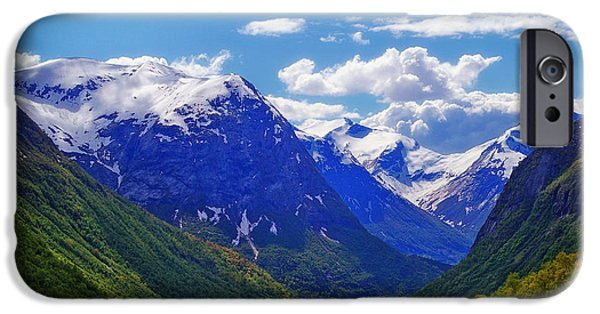 Norway iPhone Cases - Norwegian Vista iPhone Case by K Riemer