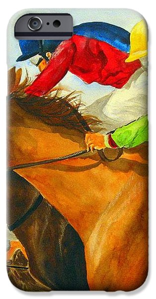 Nose to Nose iPhone Case by Jean Blackmer