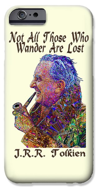 Best Sellers -  - Virtual iPhone Cases - Not All Those T iPhone Case by Douglas Christian Larsen