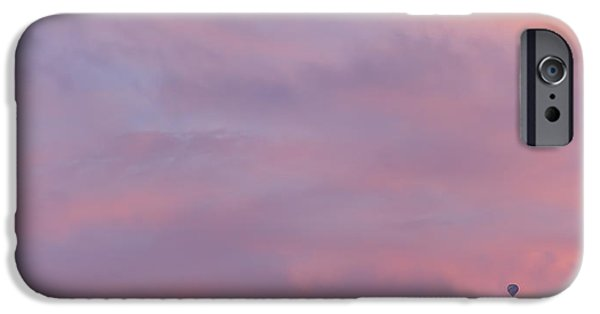 Hot Air Balloon iPhone Cases - Not in Kansas iPhone Case by Peter Tellone