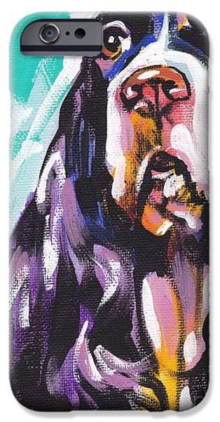 Springer Spaniel iPhone Cases - Nothing Like Spring iPhone Case by Lea